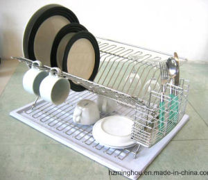 Plate Drying Dish Storage Racks for Home Kitchen pictures & photos