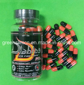 Diablos Orange Black Weight Loss Slimming Capsules pictures & photos