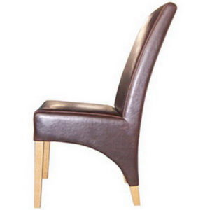 Zy-08 PU Leather Dining Chair pictures & photos