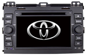 for 7 Inch Toyota Prado 2009 Car Navigation with DVD Bt ISDB DVR DTV USB Reversing Camera