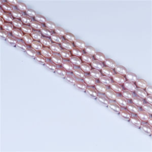 Purple Rice Pearl Strand Wholesale pictures & photos