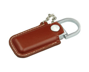 Leather USB Flash Drive USB2.0 USB3.0 Logo Custom Company Gift pictures & photos