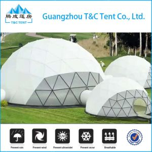 Outdoor Aluminum Structure Glass Dome House Polystyrene / Geodesic Arch Tent pictures & photos