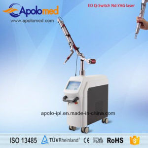 Eo Q-Switch 1064/532 Nm ND YAG Laser Tattoo Removal Machine pictures & photos