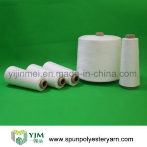 100% Bright Virgin Polyester Spun Yarn pictures & photos