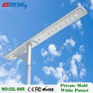 China 56W LED Solar Street Light with Motion Sensor and Remote Control IP65 pictures & photos