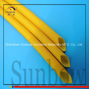 Silicone Resin Coated Electrical Insulation Fiberglass Sleeving pictures & photos