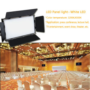 Professional DMX 3200k LED Studio Panel Light for Press Conference with Warm White