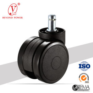 60mm PVC Caster Wheel Chair Casters Furniture Castor Cabinet Casters pictures & photos