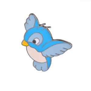 Wholesale Custom Fashion Promotion Metal Bird Shape Lapel Pin Brooch pictures & photos