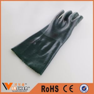 Hand Protective Safety Nitrile Chemical Industrial Gloves pictures & photos
