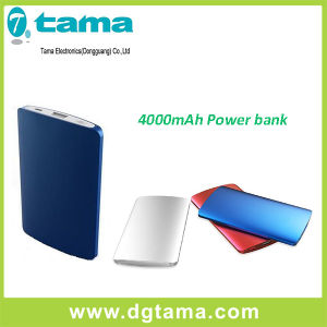 4000mAh Aluminium Alloy Solar Smart Portable Charger Power Bank pictures & photos