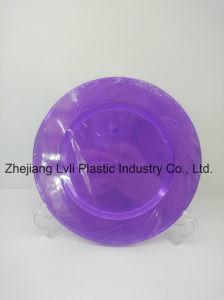 Plastic Plate, Disposable, Tableware, Tray, Dish, PS, Environmentally, Friendly, Pb-03