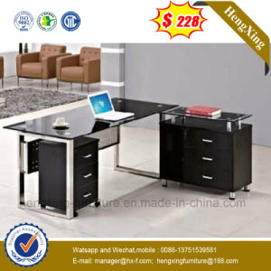 Melamine L Shape Office Furniture Executive Computer Office Table (NS-GD026) pictures & photos