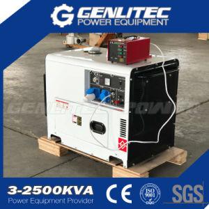5.5kw/6.0kw 13HP Diesel Engine Silent Diesel Generator (DG7500SE with DE188FAE) pictures & photos