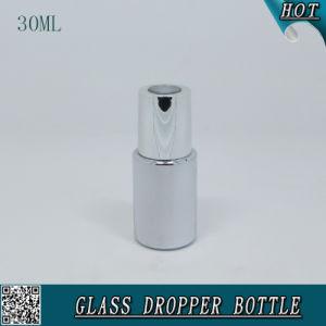 30ml Cosmetic Liquid Essence Serum Dropper Bottle Silver Color Essential Oil Bottle pictures & photos