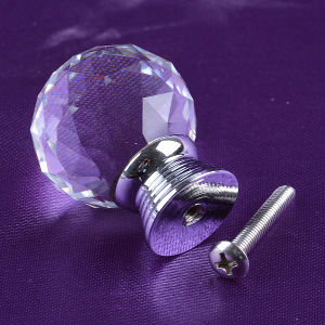 30mm Factory Clear Crystal Glass Ball Cabinet Drawer Knob pictures & photos