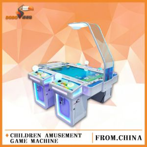 Big LED Screen Card Drawing and Gun Fighting Amusement Game Machine with Ar Technical for Children Playground Center pictures & photos