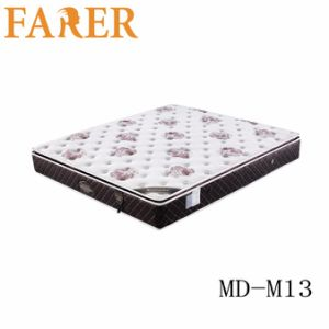 Breathable and Comfortable Polyester Fabric Latex Mattress pictures & photos