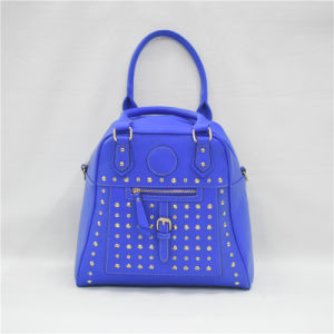 2017 New Trends in The Spring Genuine Blue Handbag Cumbersome and Delicate (GB#90020) pictures & photos