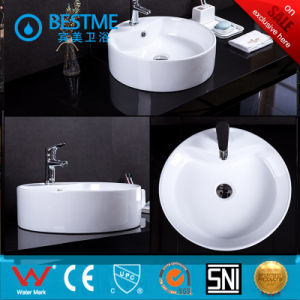 New Model Ceramic Counter Top Art Basin in Oval Shape pictures & photos