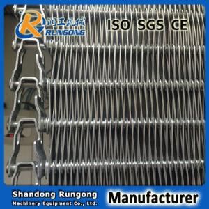 Muti-Tier Spiral Conveyor Rod Belts pictures & photos