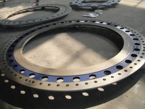 Super Alloy 16mn Hot Forging Forged Slip-on Flange pictures & photos