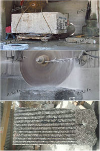 Diamond Cutting Tool Multi Blades Granite Block Cutter Dq2200 pictures & photos