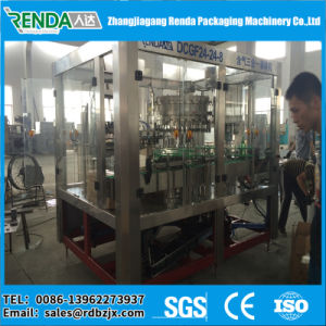 Monoblock 3 in 1 Carbonated Drink Automatic Bottle Filling Machine pictures & photos