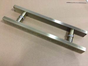 Stainless Steel Hinge Glass Door Handles pictures & photos
