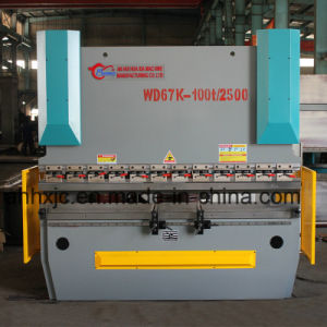 Full Automatic Electrohydraulic Servo CNC Wd67k 200t/3200 Hydraulic Carbon Steel Press Brake Machine pictures & photos