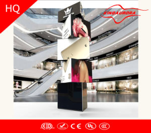 P6 Full Color Indoor LED Rotating Display 3 Layer Display pictures & photos