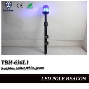 Red and Green LED Pole Flashing Beacon Tail Light for Police Motorcycle (TBH-636L1) pictures & photos