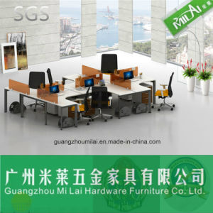 Modern Design Open Modular Office Wooden Computer Table Furniture pictures & photos