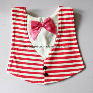 Aby Toddler Infant Boys Girls Drool Drooling Bibs Bowtie Tuxedo Bow Neck Tie Burp Cloths Unisex Pack Esg10151 Baby Bib pictures & photos