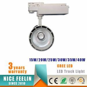 Competitive Price 30W Epistar COB LED Track Light 13/24/38deg pictures & photos