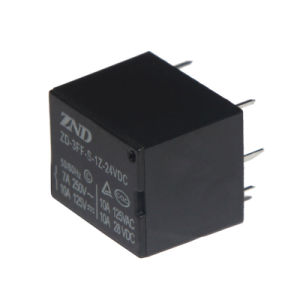 3FF (T73) Silver Contact Power Relay 7A 24V Electromagnetic Relay pictures & photos