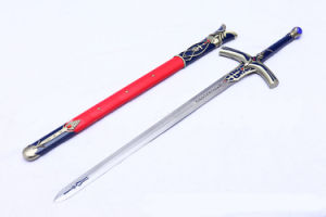 Fate Stay Night Caliburn for Cosplay or Display/Anime Sword/Cartoon Sword