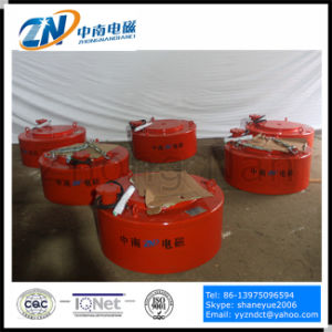 Circular Manual Discharging Electromagnetic Separator Mc03-180L pictures & photos