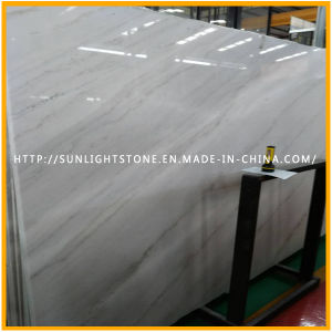 Cheapest Chinese Polished Guangxi/Bianco Carrara White Marble for Slabs, Tile pictures & photos