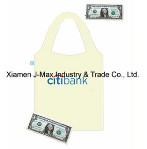 Foldable Shopper Bag, Promotion Bags, USD Currency Style, Reusable, Lightweight, Grocery Bags and Handy, Gifts, Promotion, Tote Bag, Decoration & Accessories pictures & photos