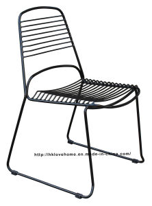Replica Modern Metal Restaurant Stackable Wire Side Chair pictures & photos