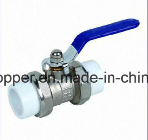 Froged Brass Ball Valve for PPR Pipe pictures & photos