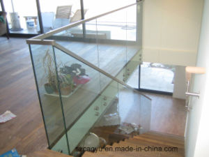 Glass Railing_High Quality Stainless Steel Staircase Handrail_Ornamental Railings pictures & photos