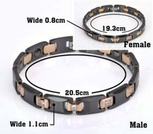 Hottime Customized Bracelet for Couple with Health Function (10065) pictures & photos