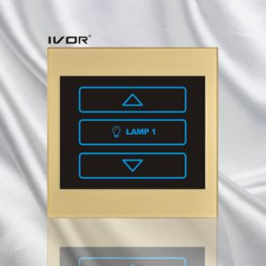 1 Gang Dimmer Switch 400W in Acrylic Material Outline Frame (SK-T1200DH1) pictures & photos
