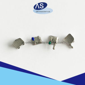 Orthodontic Monoblock Mbt Brackets MIM One Piece Metal Brackets pictures & photos