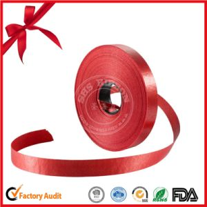 Wholesale Custom Red Ribbon Roll for Gift Decorative pictures & photos