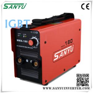 Sanyu MMA-180IGBT 230V/1pH IGBT MMA Welding Machine (MMA-180 IGBT) pictures & photos