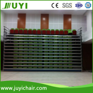 Indoor Telescopic Bleacher Retractable Seating Gym Bleacher for Theater and Stadium Jy-765 pictures & photos